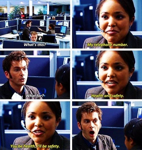 flirting,10th doctor