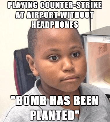 minor mistake marvin,airport,Memes,counter strike