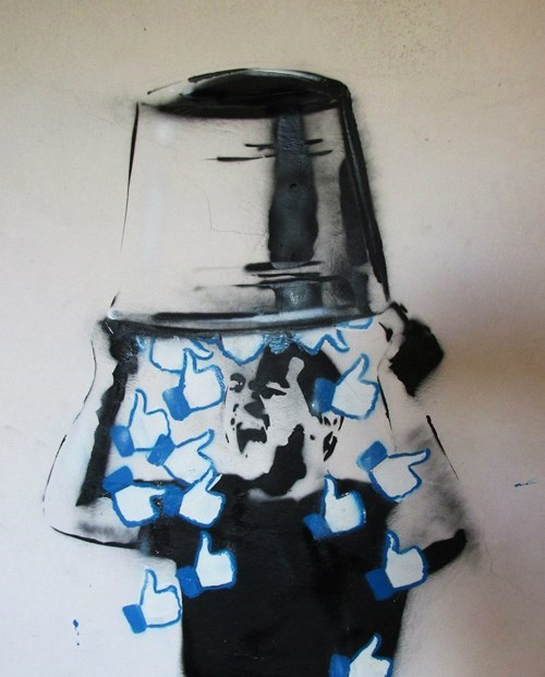 Street Art graffiti hacked irl ice bucket challenge failbook g rated - 8349073664