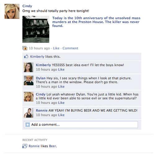 horror halloween parody failbook - 8349090816