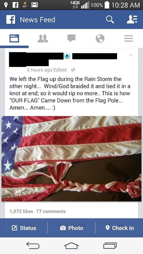 flags,facebook