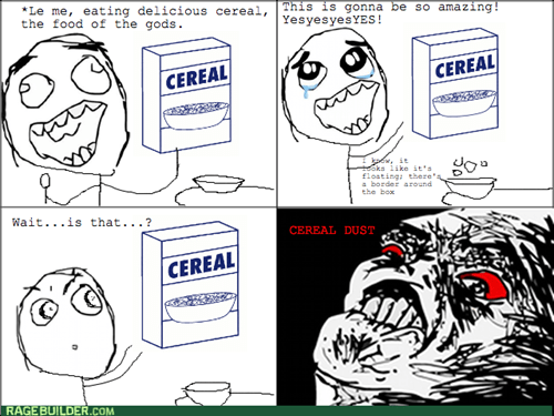 comics entertainment rage brother cereal - 8349622528
