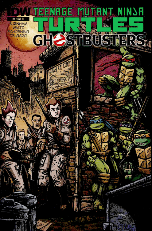 comics entertainment TMNT Ghostbusters Straight off the Page - 8349657344