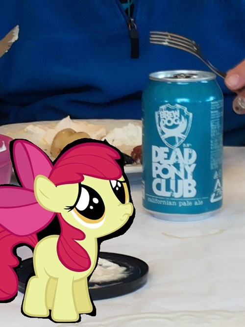 tv geek entertainment beer apple bloom sad pony - 8349675264