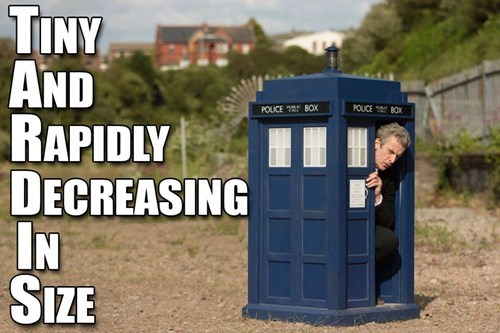 Peter Capaldi tardis 12th Doctor - 8349828608