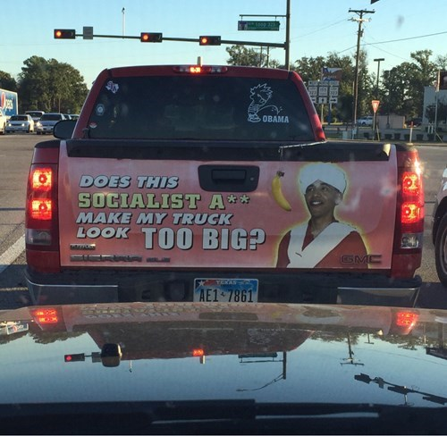 Republicans obama barack obama texas trucks - 8349948928