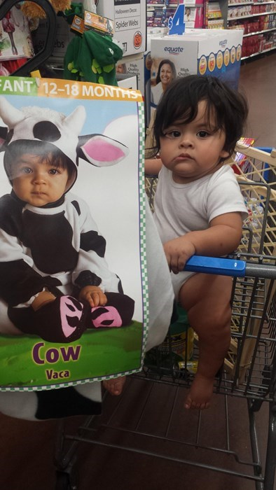 costume baby cow parenting Doppelgänger twins - 8350002176