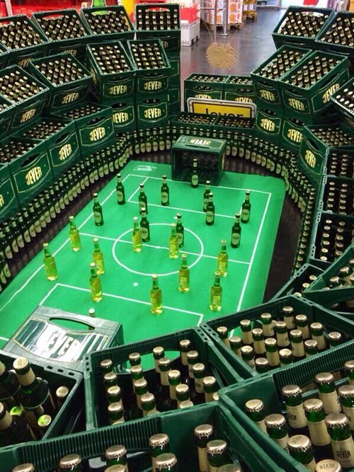 display beer stadium soccer funny - 8350047744