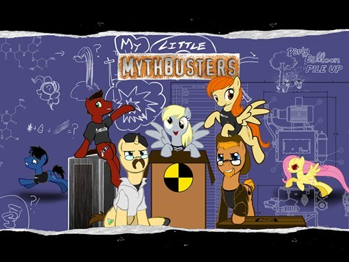 hub network,mythbusters,ponify,discovery family