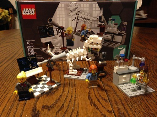 lego awesome scientists science women