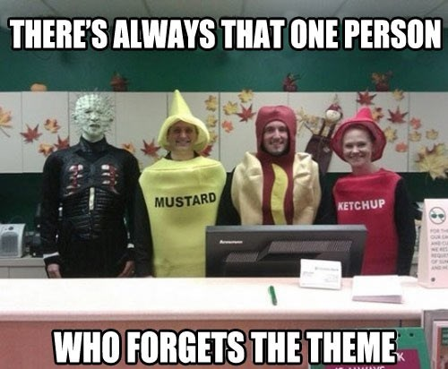 monday thru friday costume poorly dressed coworkers g rated - 8350107392