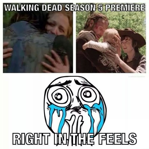 premiere right in the feels The Walking Dead - 8350181632