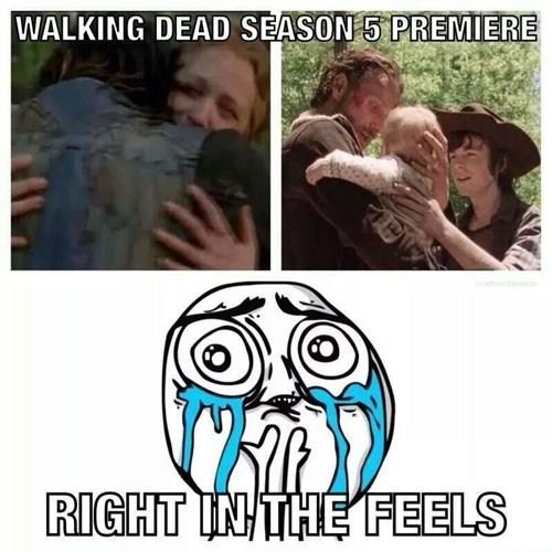 premiere right in the feels The Walking Dead - 8350181632
