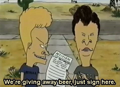 beavis and butthead,petition,genius,funny