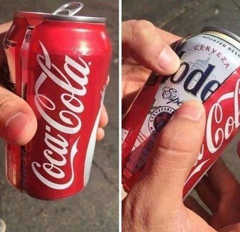 beer,coca cola