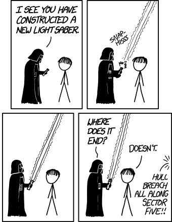 lightsaber,star wars,Death Star,darth vader,web comics