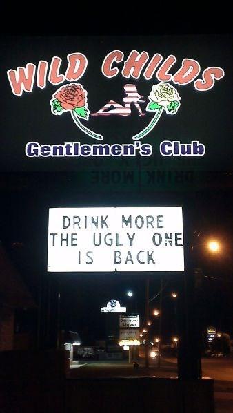 monday thru friday sign strip club - 8350977792