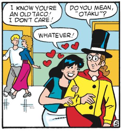 Archie Comics otaku - 8351070720