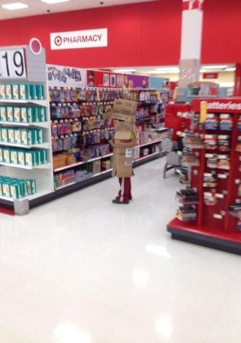 poorly dressed kids shopping box parenting - 8351126528