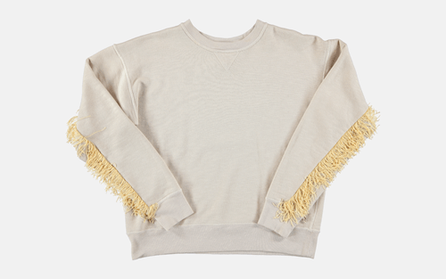 Fringe poorly dressed sweatshirt - 8351151616