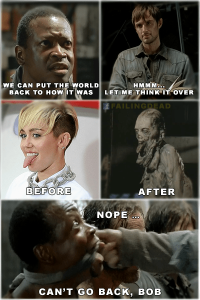 miley cyrus,The Walking Dead