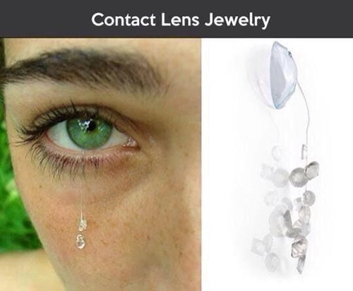 contact lenses nope Jewelry poorly dressed - 8351246336