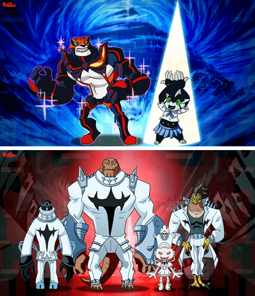 crossover Fan Art kill la kill ben 10 omniverse - 8351287040