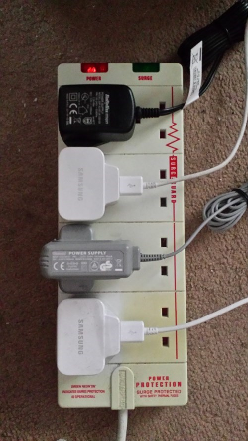 Y'know, I'm so glad I bought this 8-way extension cable