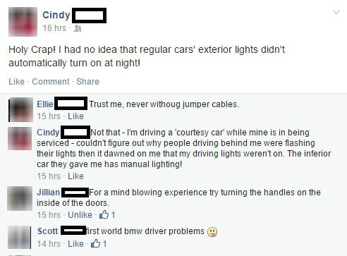 facepalm cars First World Problems safety