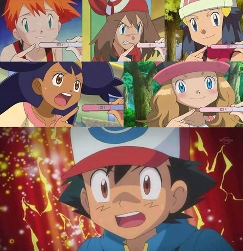 ash companions pregnancy test Pokémon - 8352270848