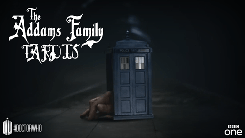 12th Doctor addam's family - 8352311808
