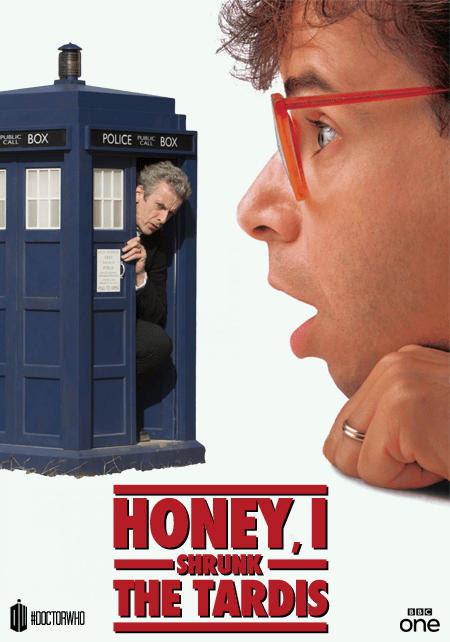 12th Doctor honey i shrunk the kids tardis - 8352314368