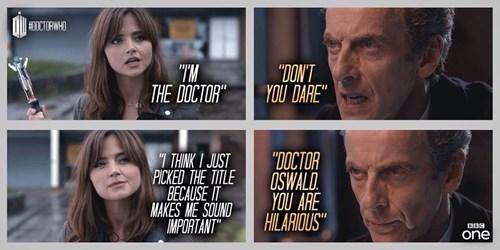 12th Doctor,clara oswin oswald