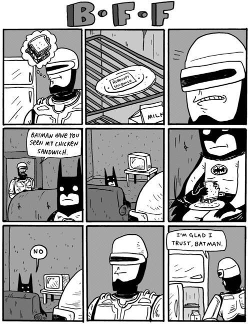 batman robocop roommates web comics - 8353005056