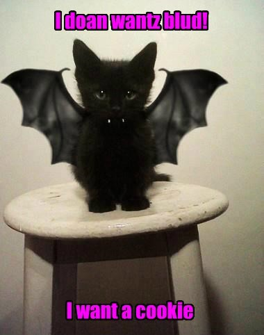 vampire oreo Cats squee cookies - 8353270528