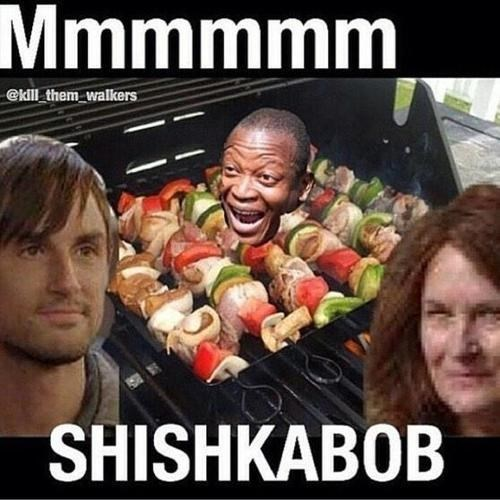 cannibalism puns noms The Walking Dead - 8353385216