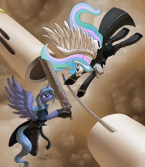 final fantasy VII princess celestia princess luna - 8353427712
