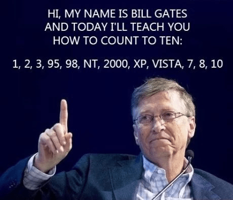 10,Bill Gates,math,funny,School of FAIL