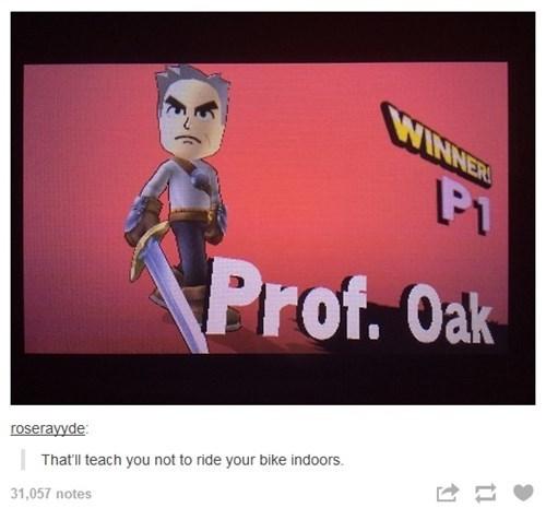 professor oak super smash bros tumblr - 8353555712