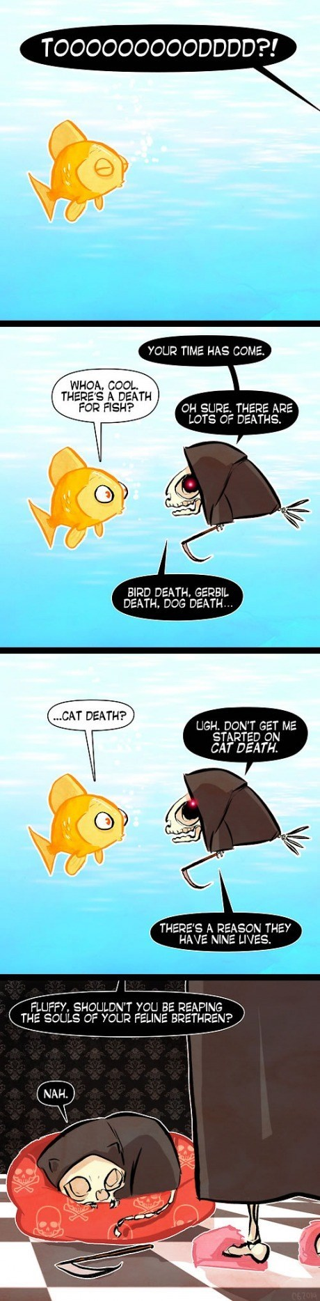 Death,sad but true,Cats,web comics
