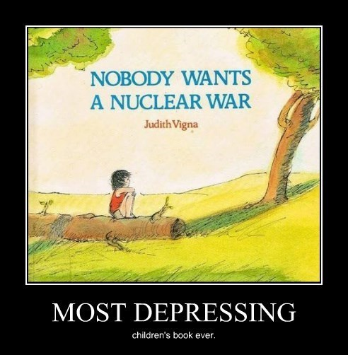 depressing,kids,nuclear war,books