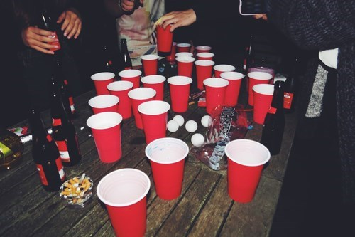 beer pong disorder funny - 8353911552