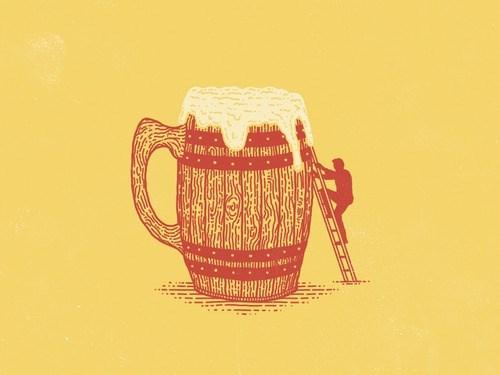beer art huge funny - 8353915392