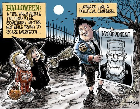 halloween,frankenstein,politics,web comics