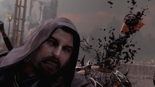 selfie,shadow of mordor,talion
