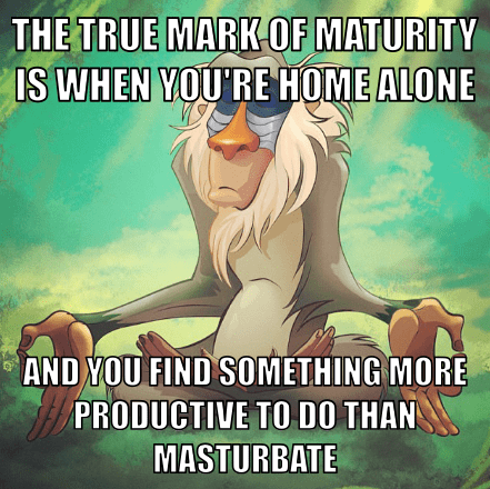 fapping,rafiki,maturity,the lion king