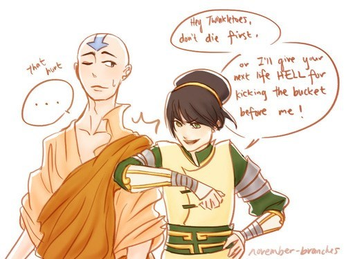 Avatar aang Avatar the Last Airbender Fan Art feels toph beifong - 8354086656