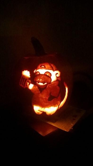 bros halloween pumpkins slowbro - 8354088704
