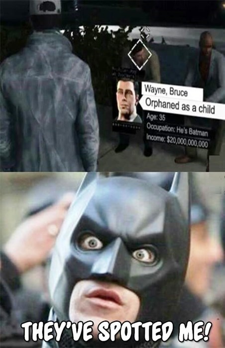 batman bruce wayne Watch_dogs - 8354097920