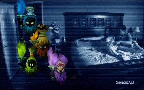 paranormal activity,zelda,poe